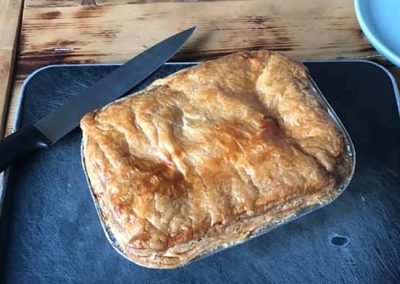 Buffalo Steak Pie